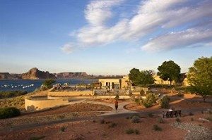 View of Lake Powell Resort by Aramark at Wahweap Marina