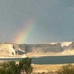 Rainbow over Lake Powell
