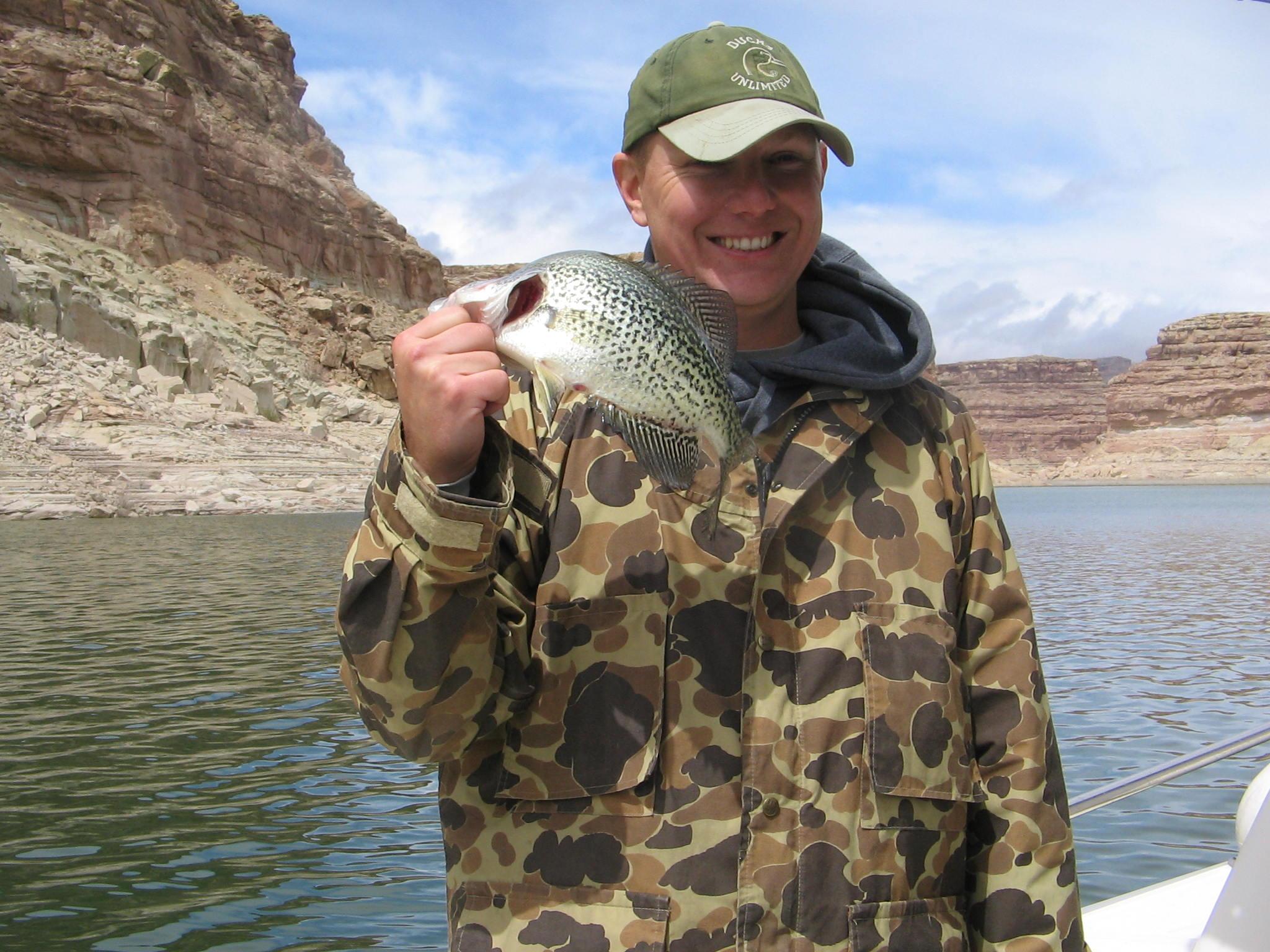 Lake powell fishing 4 15 12 ambassador guides at lake powell for Lake powell fishing