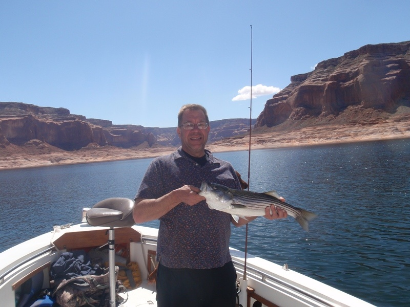 Guided fishing lake powell ambassador guides for Lake powell fishing