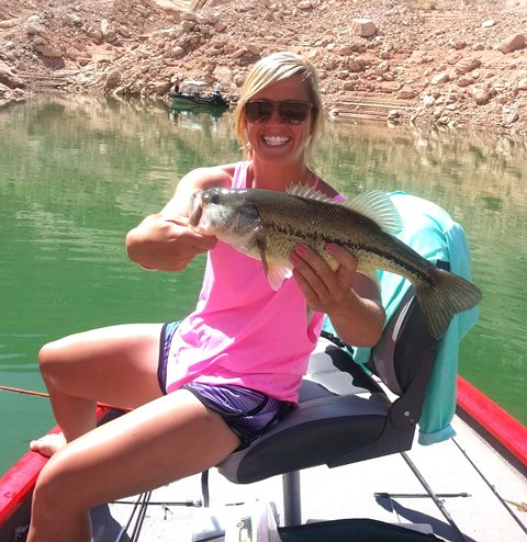 Lake powell fishing report by wayne s words 5 28 13 for Lake powell florida fishing