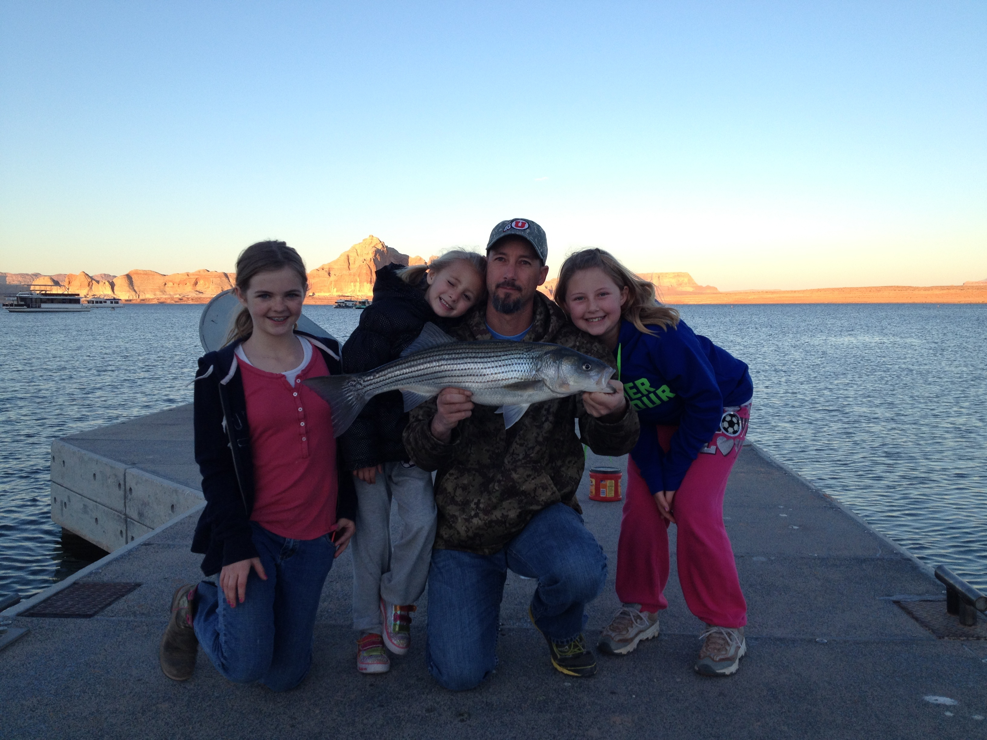 Lake powell fishing report march 1 2014 by wayne s word for Lake powell florida fishing