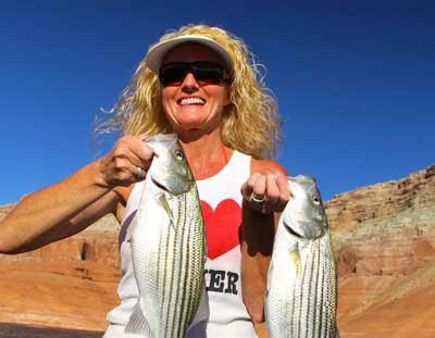 Lake Powell Fishing Guide Bill McBurney with Ambassador Guides