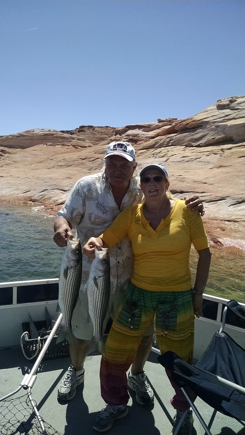 Lake powell catches 2017 with ambassador guides for Lake powell florida fishing