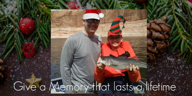 Smiles for Christmas, Fishing trip, Gift Certificate