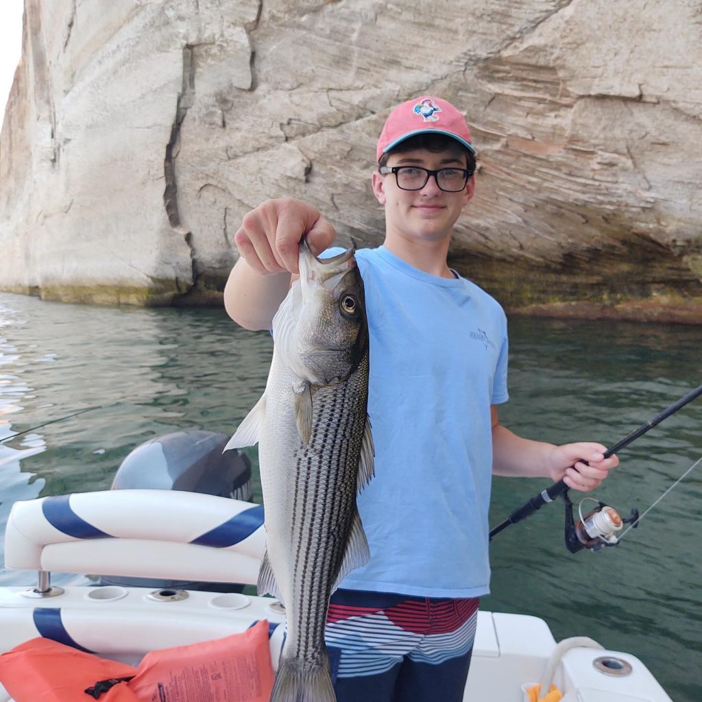 """Just a snap shot of last week! Can you say """"Fish On"""". We caught so many it was unbelievable."""